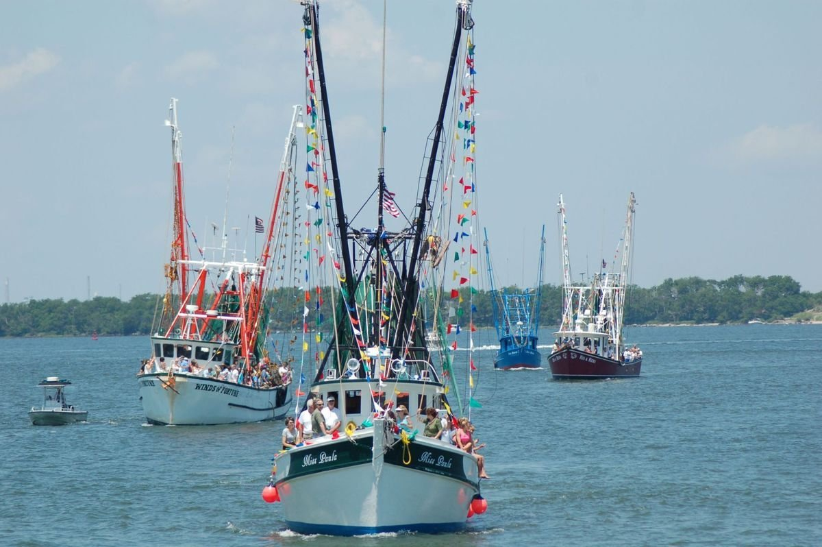 Blessing of the Fleet Courtesy of Post and Courier